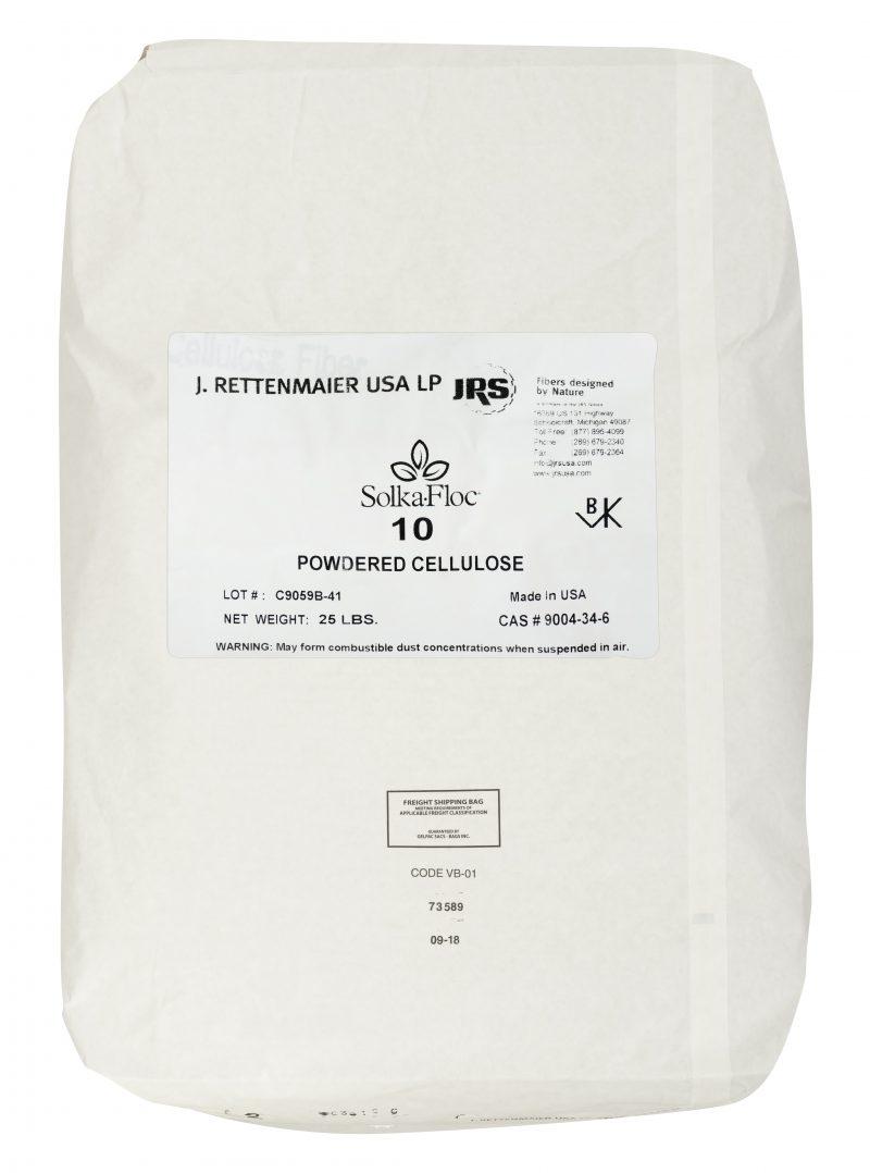 Solka-Floc Cellulose Filter Aids