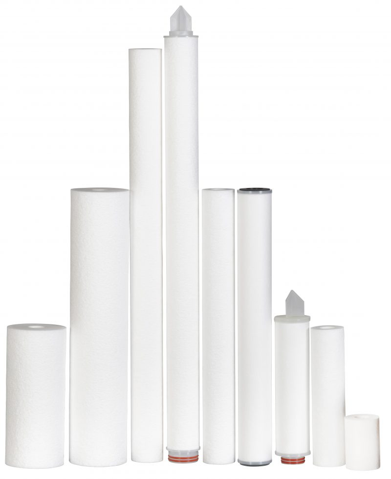 Hot Spun Filter Cartridges