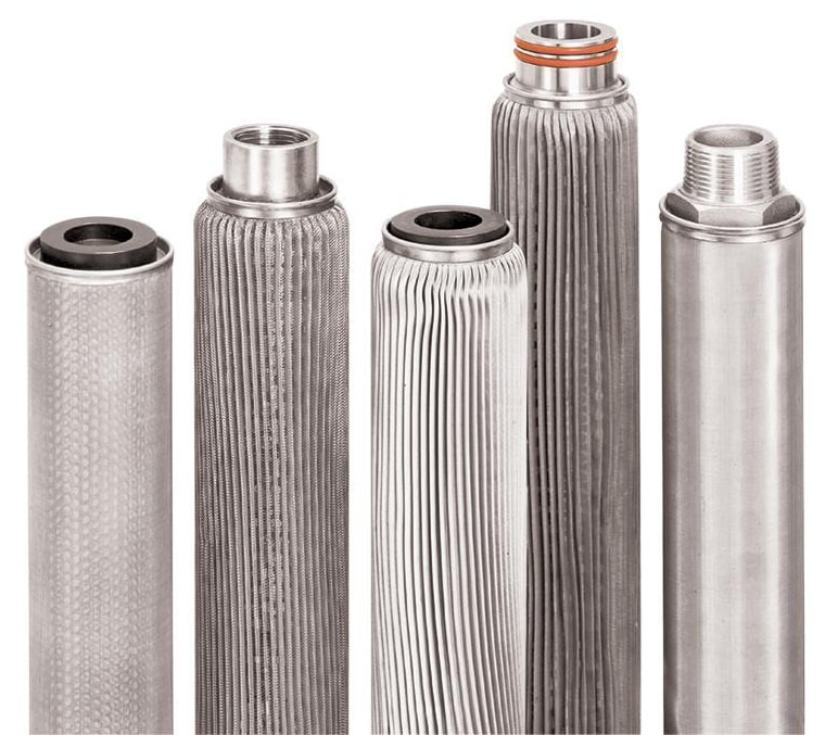 Metal Filter Cartridges